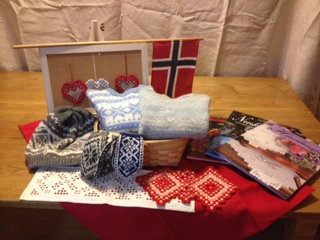 ノルウェーの手作り編み物